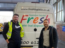 Jonny Wilkinson and Fresh Logistics